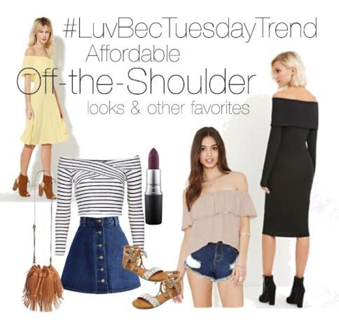 tuesdaytrend offtheshoulderlooks